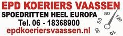 Vandaag uitgelicht: EPD Koeriers Vaassen